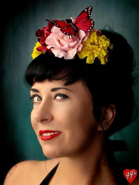 day of the dead headband ggs frida kahlo floral headband