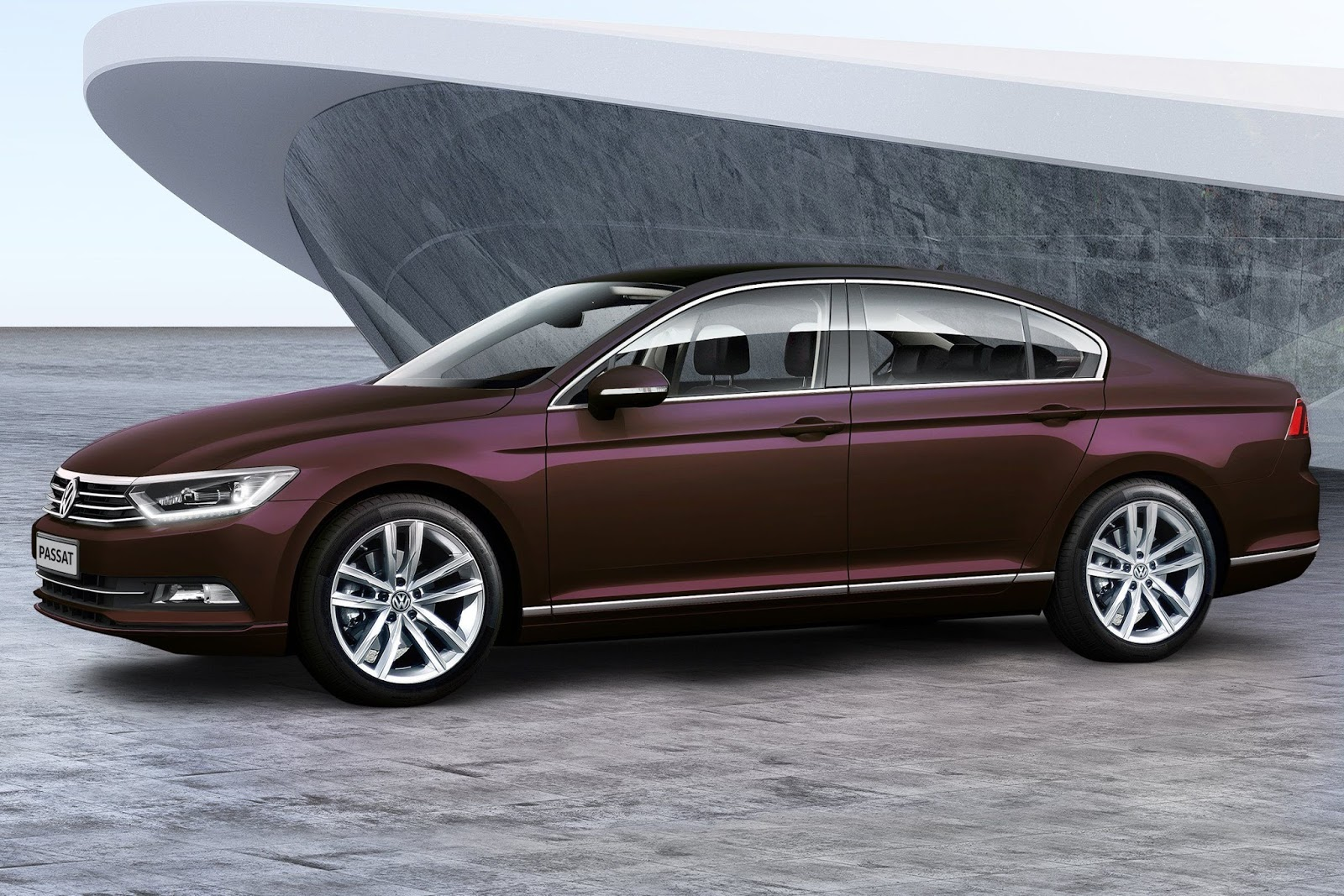 This initial powertrain set up will be joined by a tdi turbo diesel engine soon making the passat the only one in the executive sedan class to offer both
