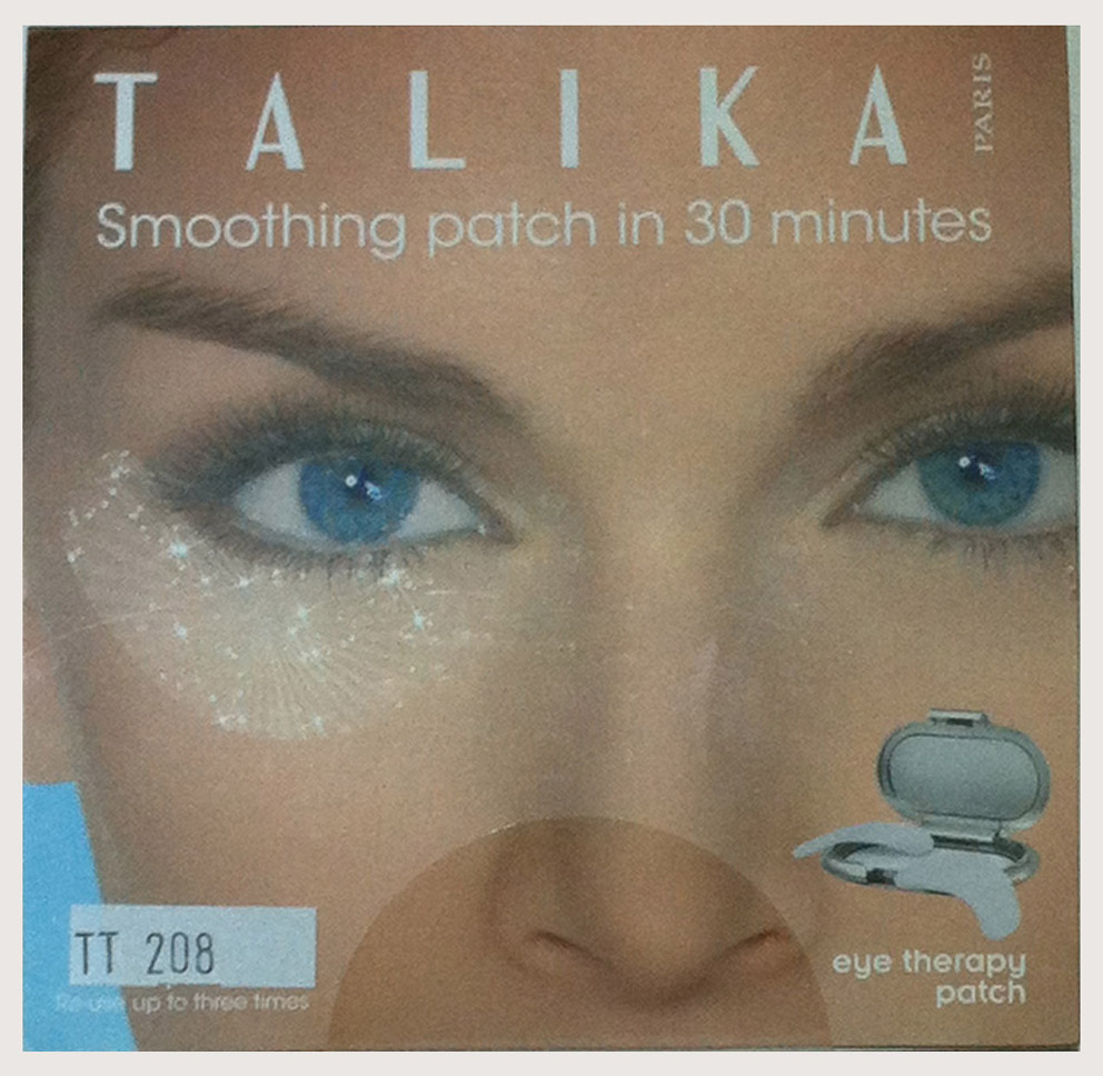 Talika eye therapy patch refillable credit