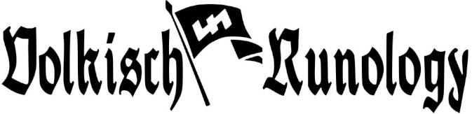 Volkisch Runology
