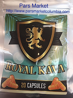 Royal Kava 20 Capsules count at Pars Market Columbia Maryland 21045
