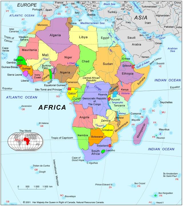 Bernies Ethiopian Odyssey Maps of Ethiopia