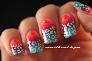 China Glaze Flip Flop Fantasy, Heli-Yum and Keepin' it Teal