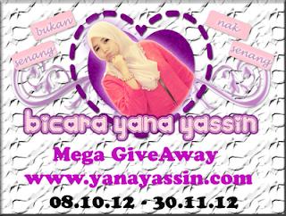 Mega GiveAway Dari www.yanayassin.com