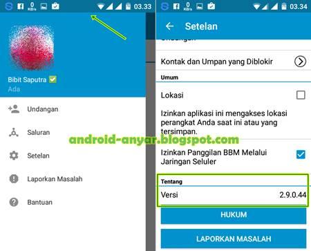 Free Download BBM Android v.2.9.0.44.apk Material Design