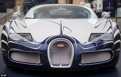 Bugatti £1.4m sports car