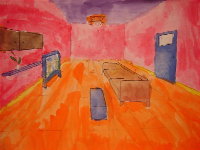 Beeldende vorming groep 2i - Schilderij kamer jongen jaar ...
