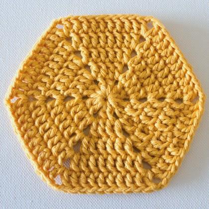 How to Crochet a Hexagon