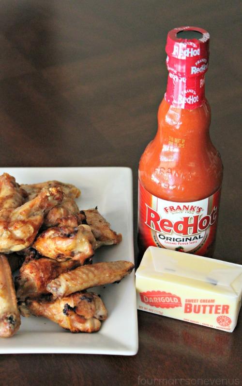 Hot Wing Ingredients