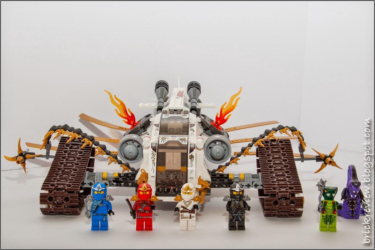 Brickreview: lego 9449: cingolato supersonico