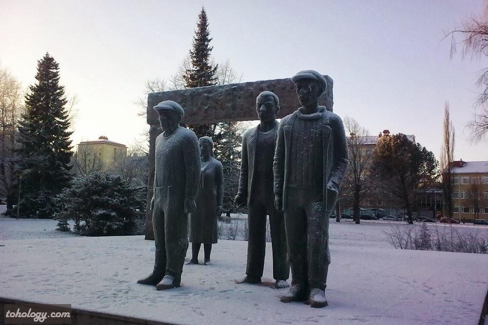 Near bus station Lahti