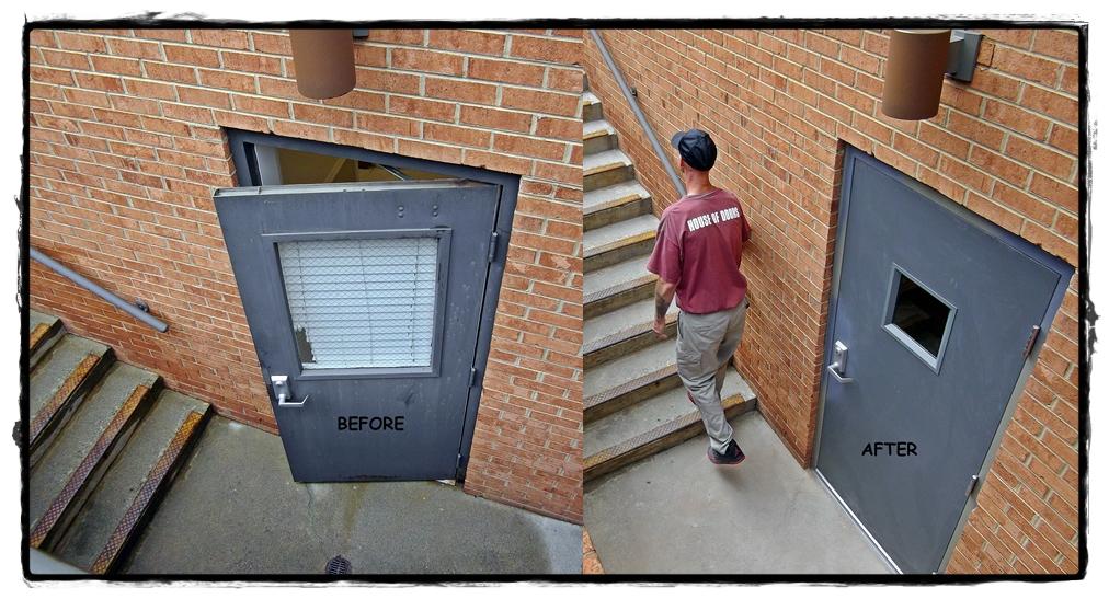 Hollow Metal Door : Worth a words house of doors roanoke va