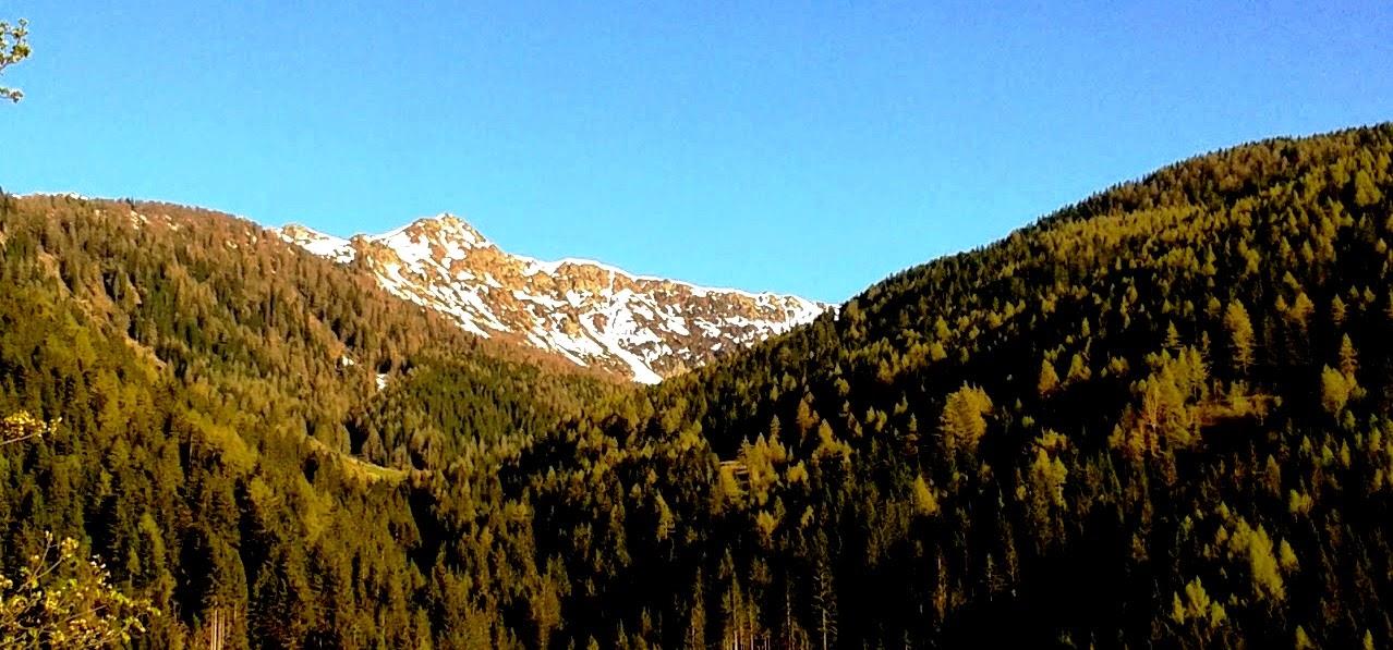 """""""Valle dei Mocheni, mappa"""""""