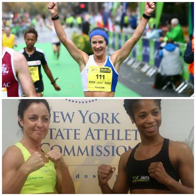 Pauline Curley Dublin Marathon Christina McMahon Alicia Slick Ashely WBC New York