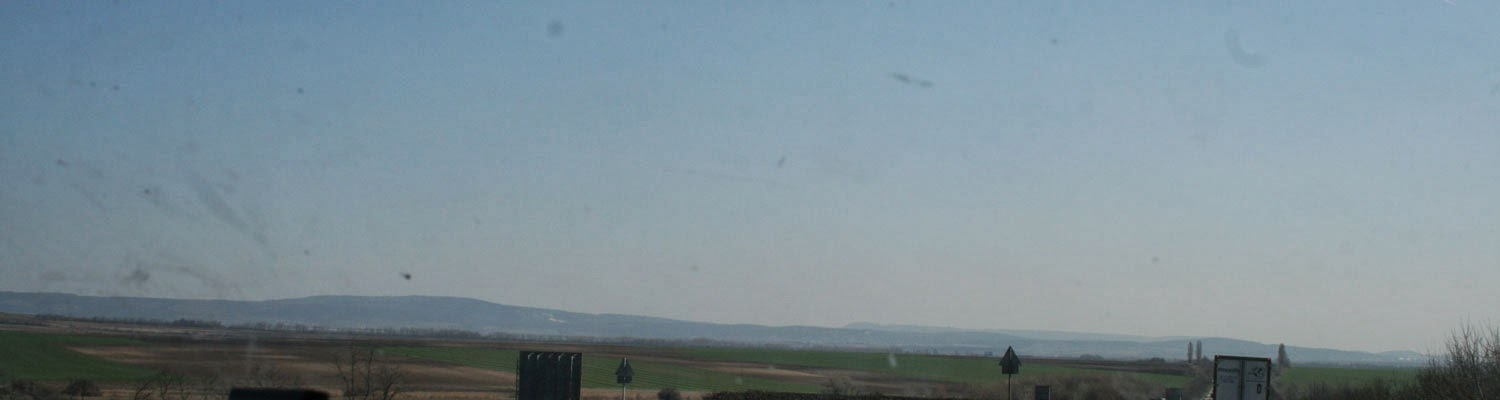 Very flat country, is Hungary