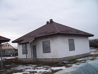 Дом из соломы в Полтаве