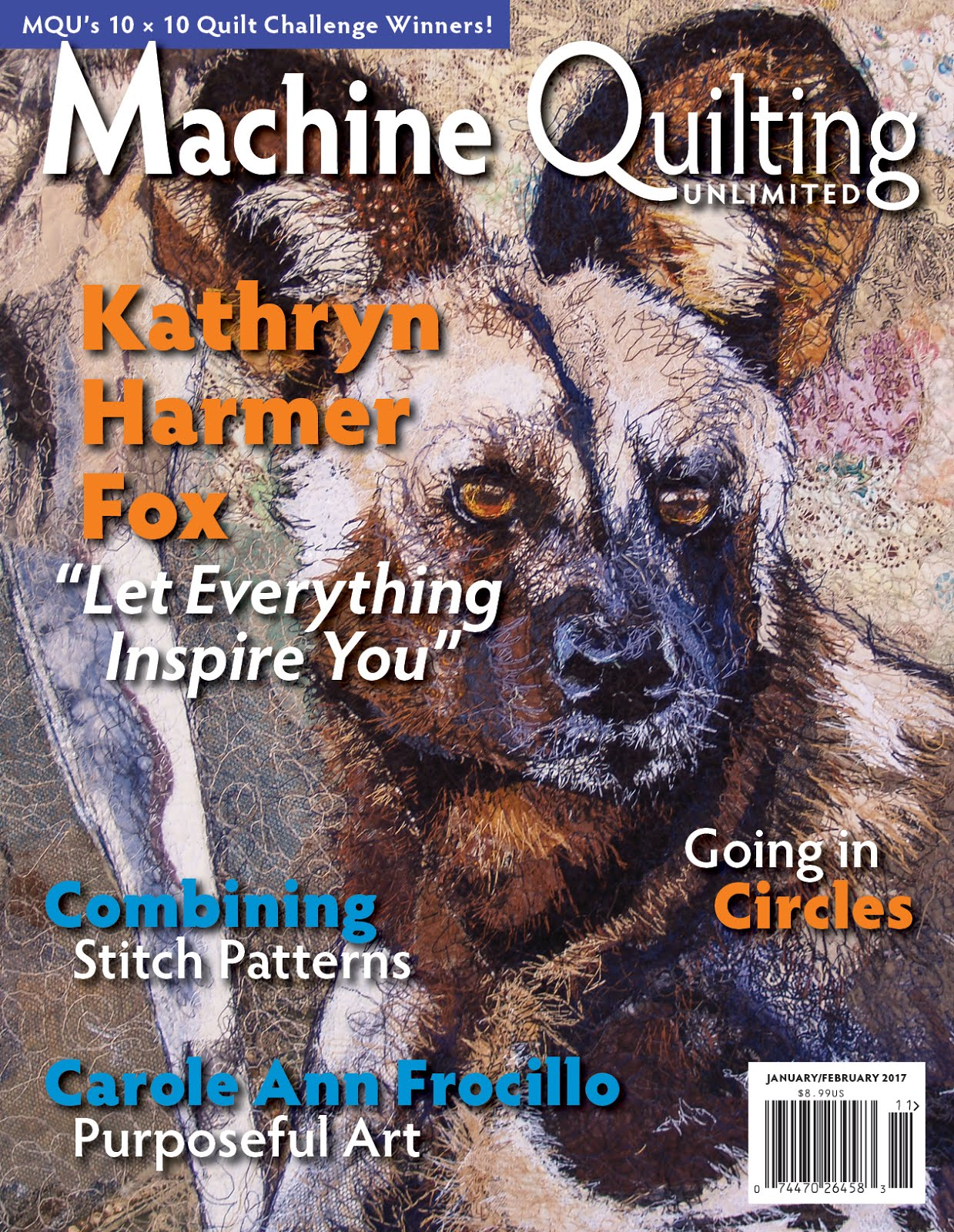 Machine Quilting Unlimited Jan/Feb 2017