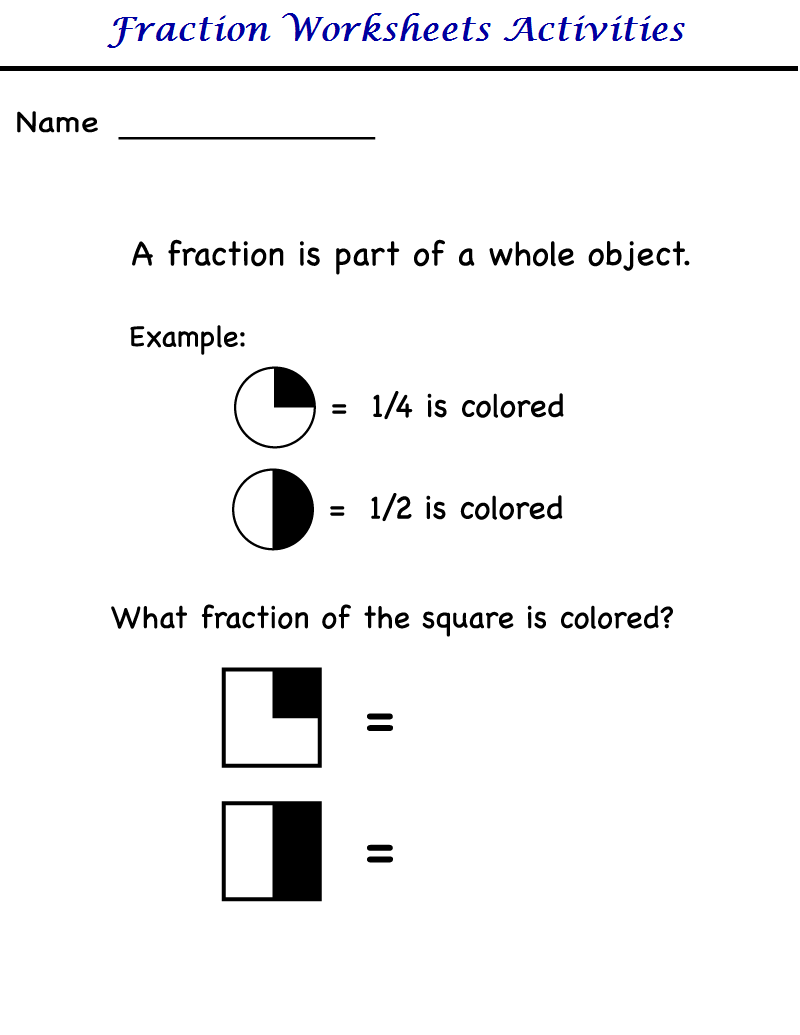 kindergarten worksheets kindergarten worksheets  fraction worksheets worksheet  worksheet  worksheet  worksheet  worksheet