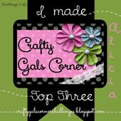 Crafty Gals Corner Top 3 (#22 & 53)