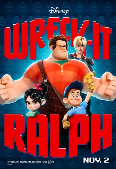 Wreck-It Ralph (2012 – John C. Reilly, Jack McBrayer and Jane Lynch)