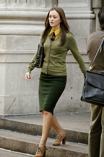 school style -Footage from the show _Gossip Girl