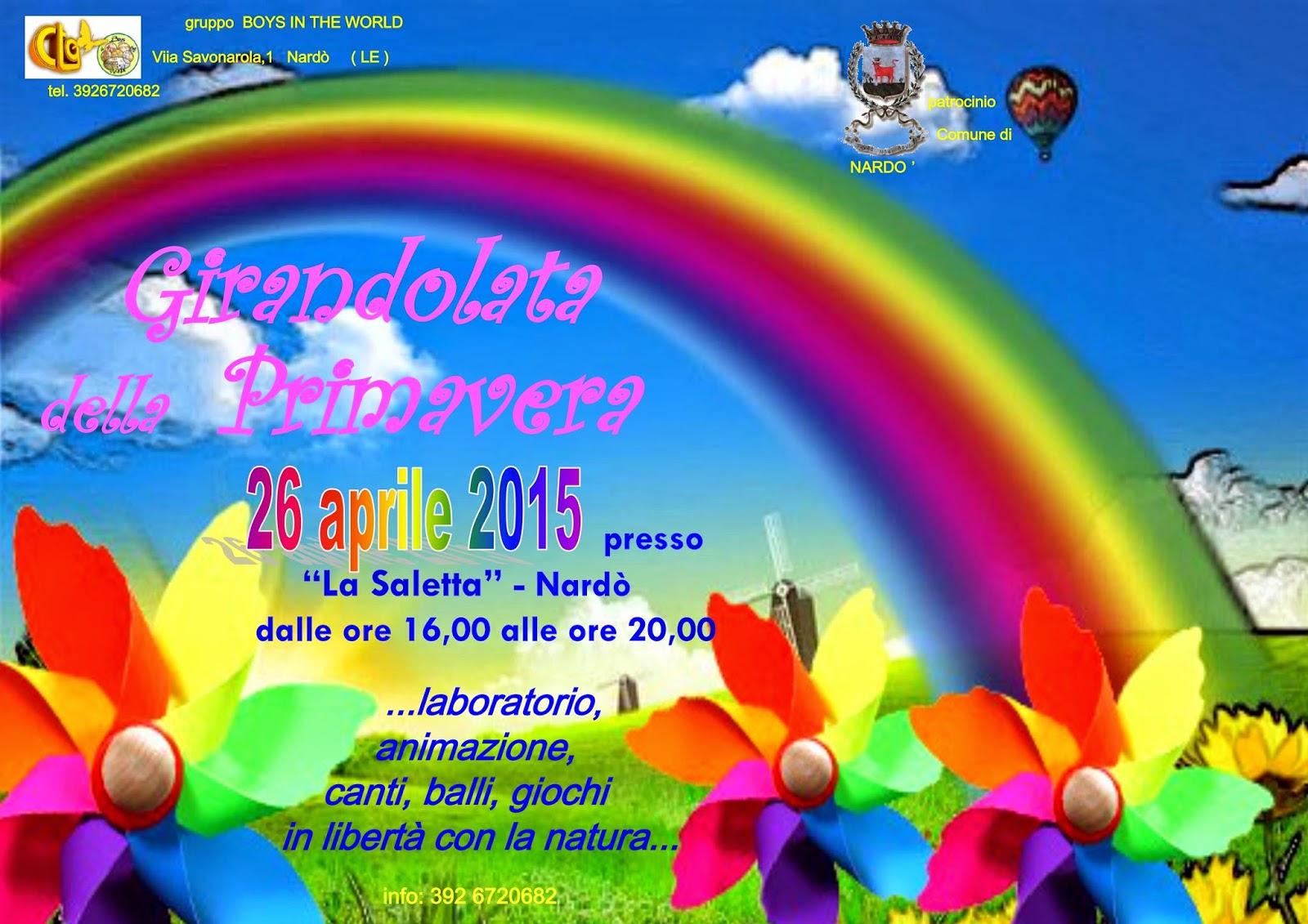 girandolata della primavera, Ctg Boys in the world, Nardò, Lecce