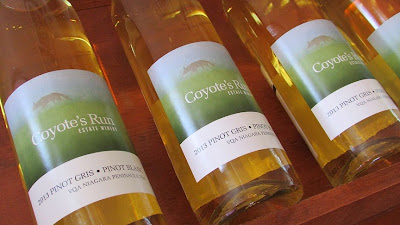 Coyote's Run Winery Pinot Grigio