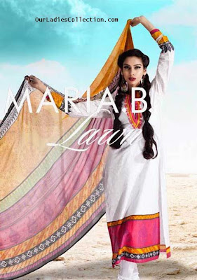Maria.B Lawn Prints Spring Summer Collection 2012-2013 ~ Pakistani