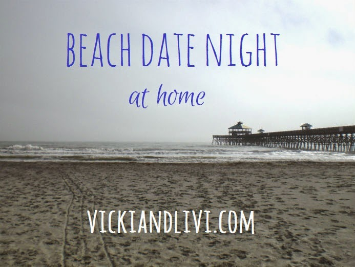 Beach Date Night at Home