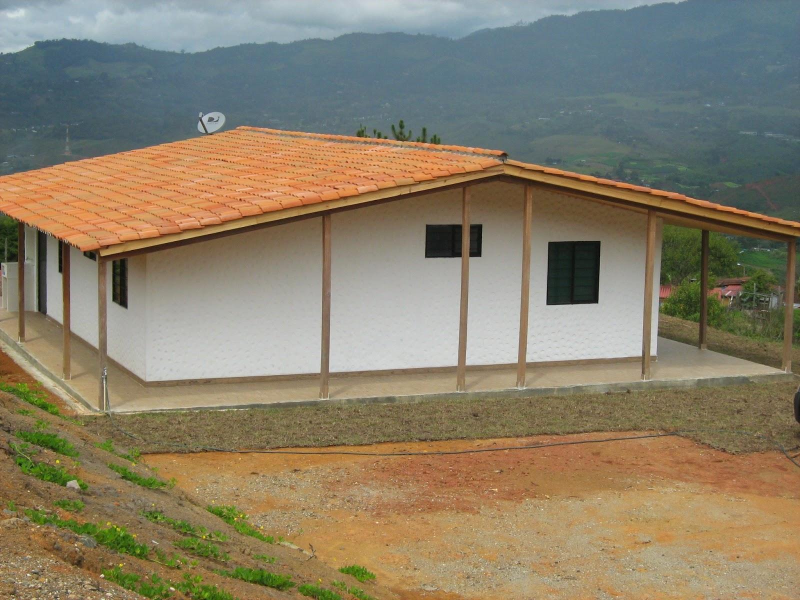 Casa 64 m2 casas prefabricadas cali colombia - Casas sostenibles precios ...