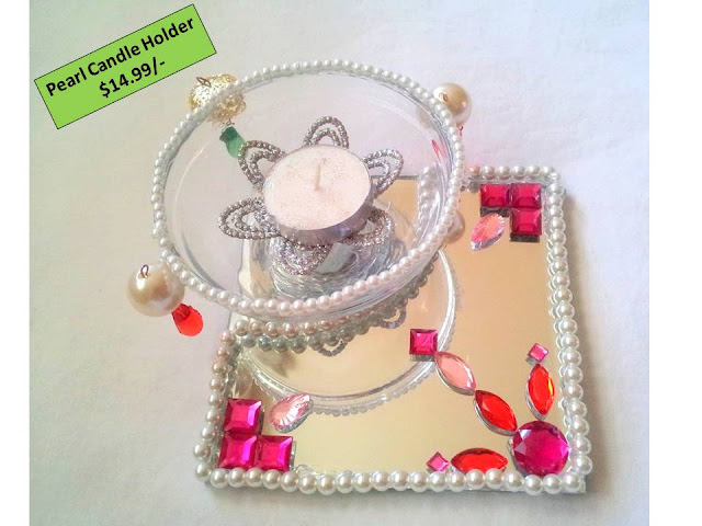 Pearl Candle Holder