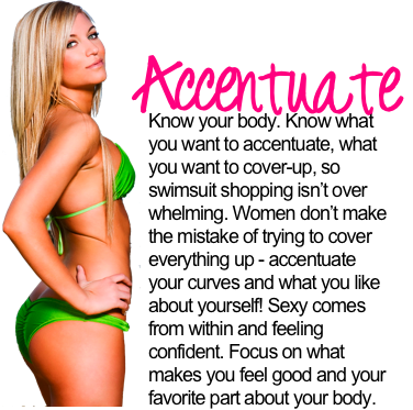 Bikini Girl Tips+Tricks: Accentuate. Posted by Crispy at 11:52 AM 0 comments
