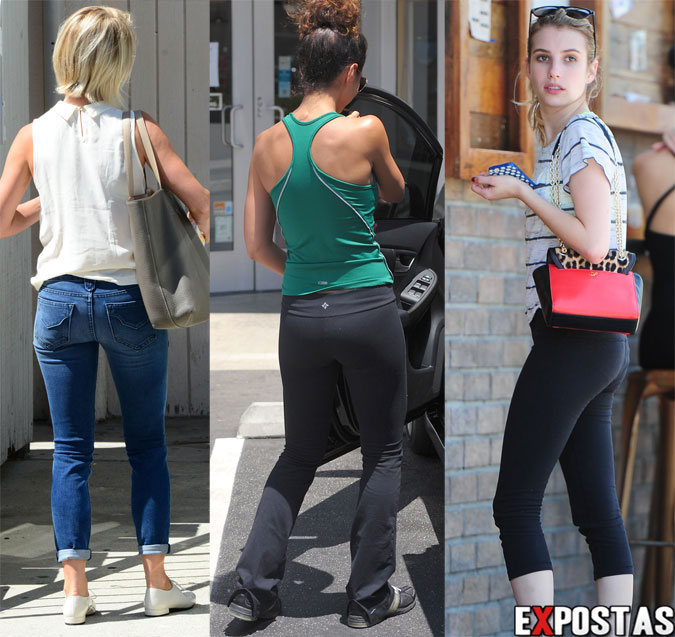 Julianne Hough, Emmanuelle Chriqui e Emma Roberts