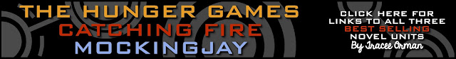 Hunger Games Catching Fire Mockingjay Unit Teaching Resources www.teacherspayteachers.com/Store/Tracee-Orman