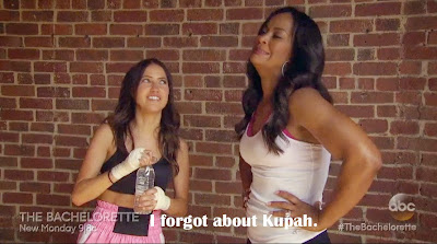 Kaitlyn Bristowe and Laila Ali The Bachelorette Season 11 Episode Two Recap