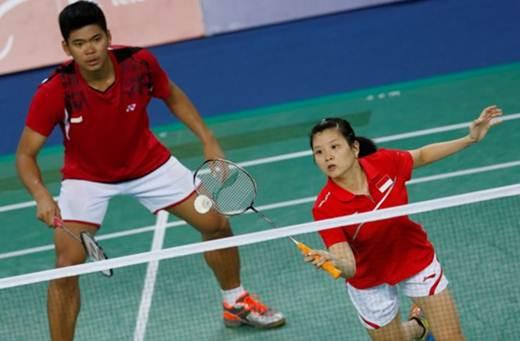 Praveen Jordan/ Debby Susanto Badminton