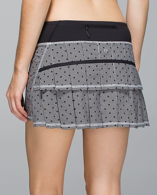 lululemon dottie-eighth-gingham pace setter skirt