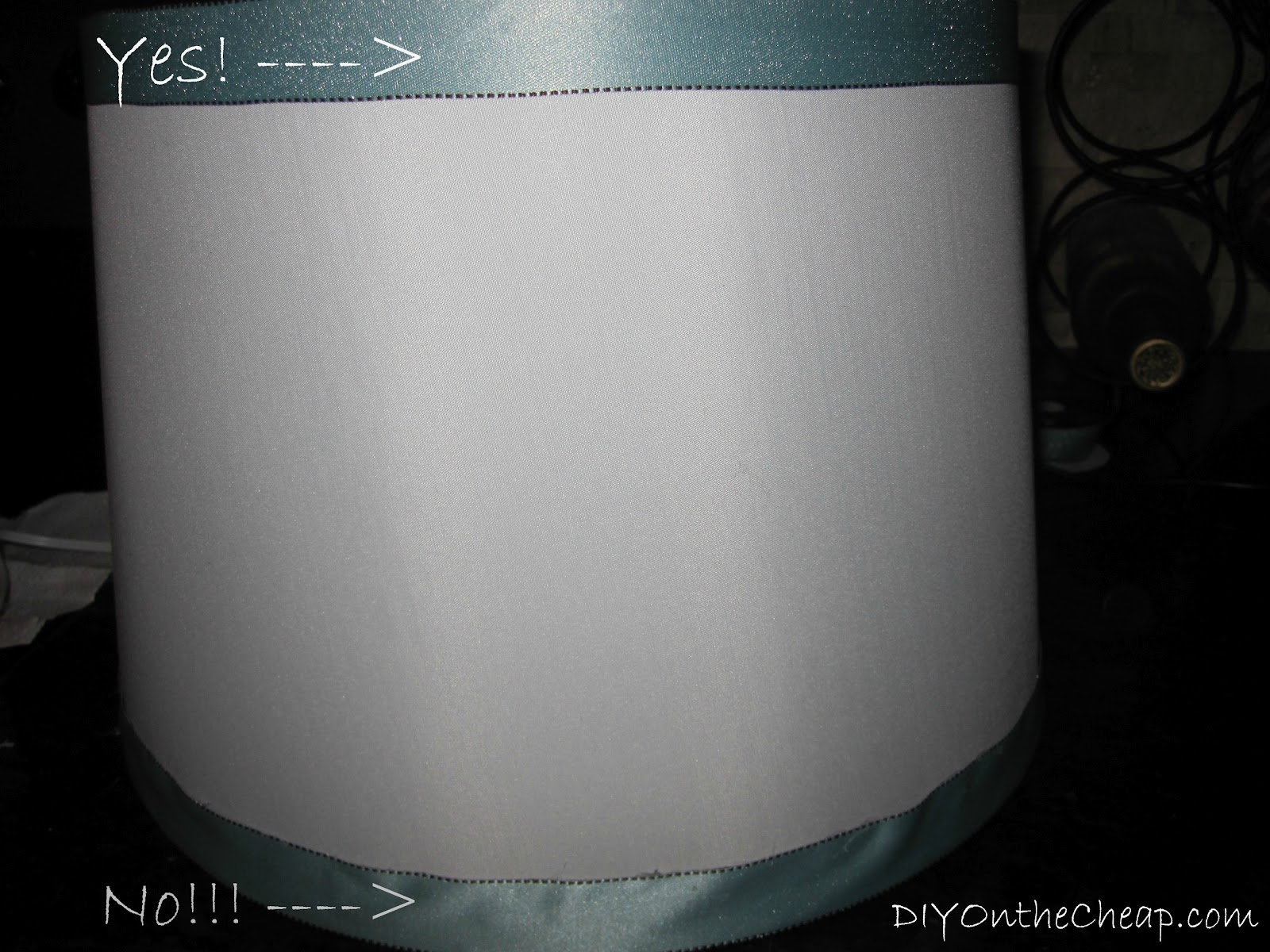 Simple lamp shade ribbon trim erin spain simple lamp shade ribbon trim aloadofball