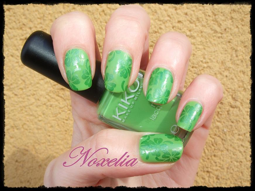 Noxelia: Stamping nail art: Look de uñas Nº 73 para Concurso