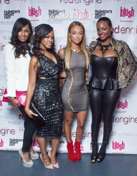 Basketball Wives La Cast Attend Fashion S Night Out Mschindah