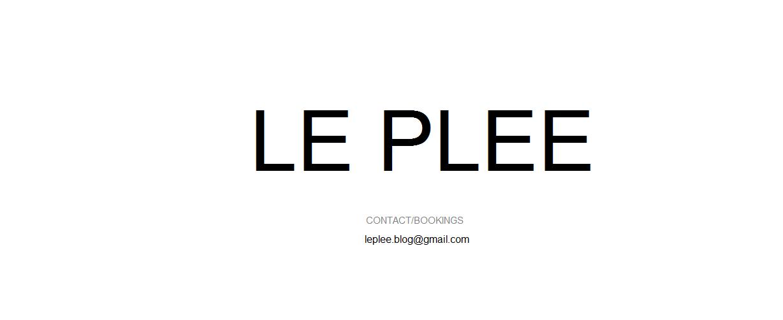 LE PLEE