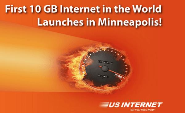 شركة أمريكية تقترح خدمة إنترنت بسرعة 10 جيغابيت !
