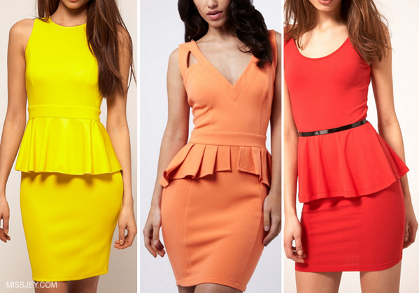 moda peplpum 2013