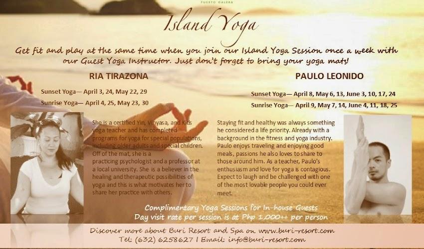Island Yoga at Buri Resort & Spa