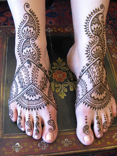 mehndi tattoo designs foot celebrity tattoos. Black Bedroom Furniture Sets. Home Design Ideas