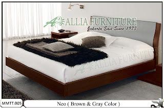 tempat tidur minimalis modern terbaru neo allia furniture