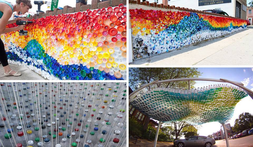 Home decor big plastic bottles recycling ideas for Home decor using plastic bottles