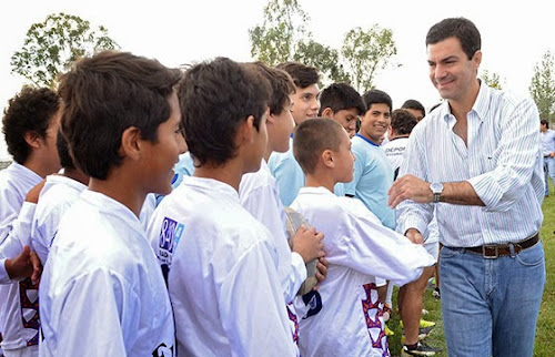 Urtubey inauguró el Intercolegial de rugby en Rosario de Lerma