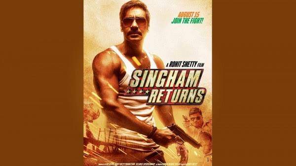 Singham returns movie hd poster wallpaper