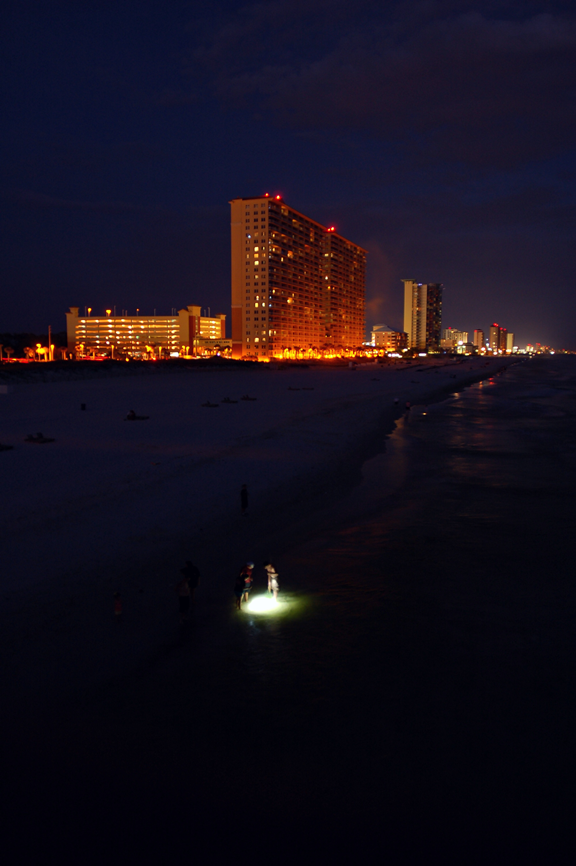 night city beach in - photo #2